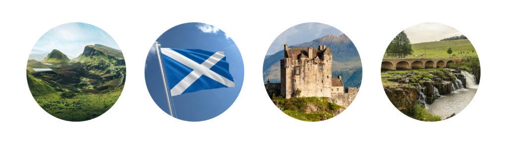 Visual Branding inspiration Caledonian Insurance Brokers