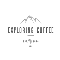 Exploring Coffee Logo