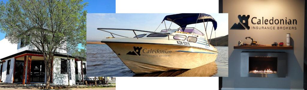 Caledonian Insurance Brokers Visual branding